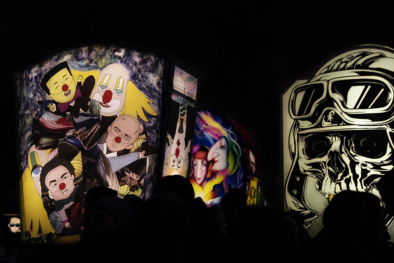 Laternen-Ausstellung auf dem Münsterplatz