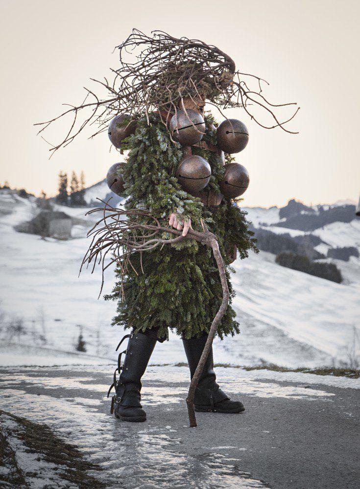 Silvesterchläuse Alter Silvester Urnäsch
